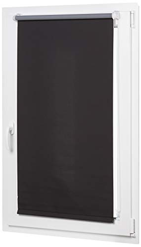 Amazon Basics curtain, Negro, 56 x 150 cm