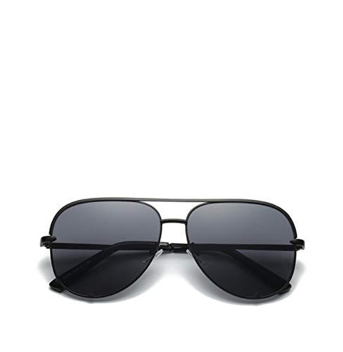 YIFEID Gafas De Sol Fashion Aviator Sunglasses Metal Metal Espejo Gafas De Sol Plano Top Panel Sombra Mujeres Moda Hombres Y Mujeres