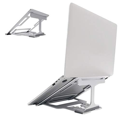 """LONGING Supporto PC Portatile, Supporto per MacBook Air/PRO ASUS Lenovo dell XPS Samsung Chromebook Huawei Portatile Ventilato Desktop Porta Regolabile 5 Livilli di Altezza 10-15"""" Supporto"""