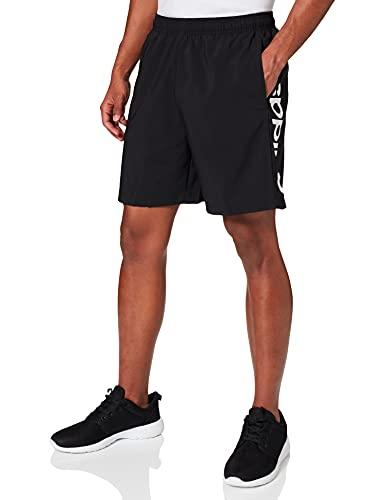 adidas Herren Essentials Linear Chelsea Shorts, Black/White, 10 (XL)