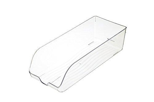 KitchenCraft Fridge-Safe Plastic Drinks Can Storage Box, 34.5 x 14 x 9.5 cm...