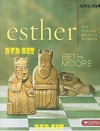 Esther: It's Tough Being a Woman DVD SET By Beth Moore (6 Dvds) (DVD-ROM)