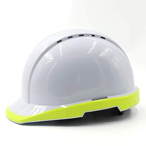 ZBM-ZBM Construcción del Sitio del Casco Fluorescente por La Noche Seguro De Trabajo Eléctrico Líder Tipo V Casco Edificio Control De Inundaciones Blancas Casco de Seguridad Industrial ⭐