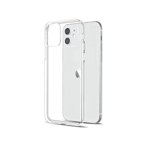 Carcasa transparente ultra fina para iPhone 11 12 Pro Max XS Max XR X suave silicona TPU para iPhone 5 6 6S 7 8 SE 2020 cubierta trasera del teléfono de la Funda-Transparente-para iPhone SE 2020
