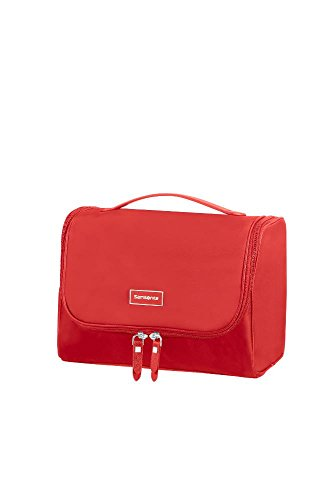Samsonite Karissa Cosmetic Cases - Bolsa de Aseo, 26.5 cm, Rojo (Formula Red)