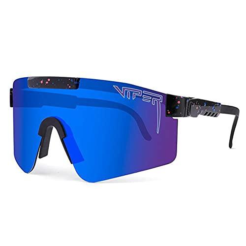 EverGreenPro Gafas de Sol Unisex Anti Viento para Ciclismo Moto MTB Bicicleta Montaña Running Deportes