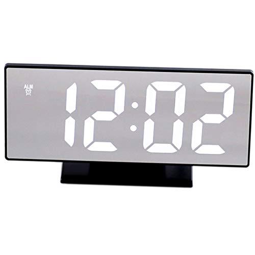 Qinghengyong Despertador Digital Multifuncional eléctrico de Noche LED LCD Luz de la...