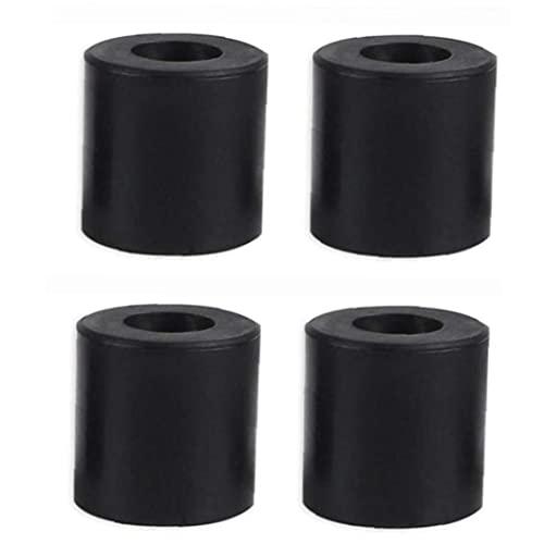 4 PCS 3D Printer Nuitées colonne Heatbed Silicone Leveling Colonne résistant à la chaleur Stable Noire Supports colonne Outils Accessaries