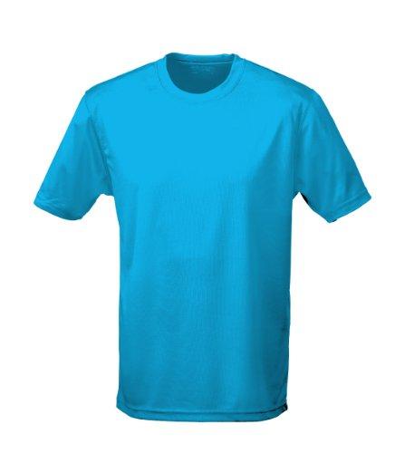 T shirt AWDis à manches courtes cool pour homme - Bleu - XX-Large