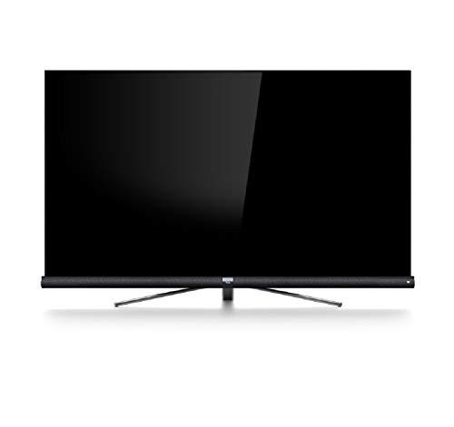Televisor TCL 55DC762 Smart TV de 55 Pulgadas con 4K UHD, HDR Pro, Wide Color Gamut, Android TV y JBL de Harmon Kardon, Acabado en Titanio Cepillado