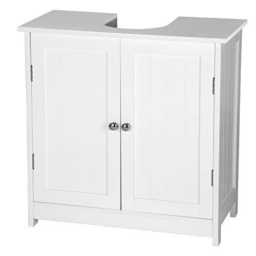 eSituro SBP0014 Meuble sous lavabo Salle de Bain 2...