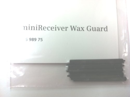 Mini-Receiver Wax Guards for Siemens Hearing Aids