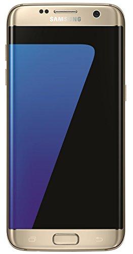 Samsung Galaxy S7 Edge Smartphone da 32GB, 5.5, 12MP, 4GB RAM, Android 6.0, Oro (Ricondizionato))