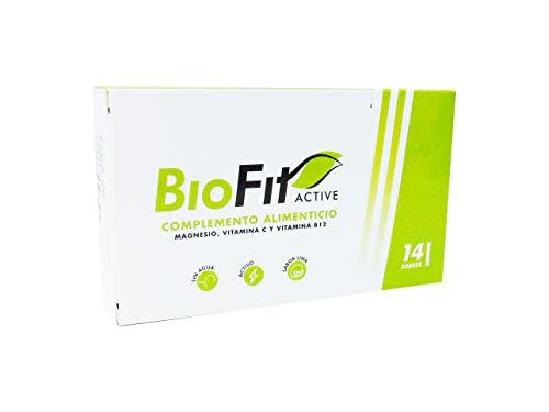 Biofit Active LIMA, Magnesio, Vitamina B12, Vitamina C - TOMA SIN AGUA - Apto para Veganos y diabéticos, Reduce el CANSANCIO, Función muscular, equilibrio electrolítico, ENERGIA.