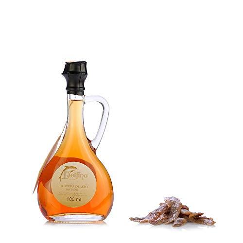 Colatura di Alici di Cetara, Acciughe Sotto Sale, Cetara, Delfino, 100 ml