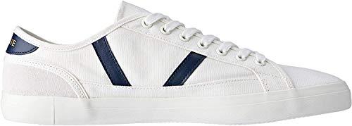Lacoste Herren Sideline 119 1 CMA Sneaker, Elfenbein (Off Wht/NVY Wn1), 46 EU