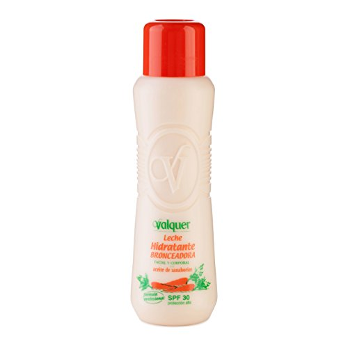 Válquer Leche Hidratante Bronceadora Facial Y Corporal (SPF 30) - 500 ml.