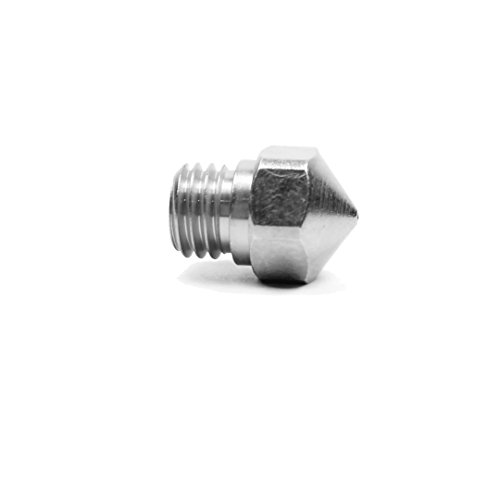Micro Swiss Nozzle for MK10 All Metal Hotend Kit ONLY (Plated A2 Hardened Tool Steel) .4mm