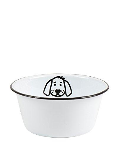 IB Laursen - Fressnapf, Hundenapf, Futternapf - für Hunde - Emaille - Ø 17 cm