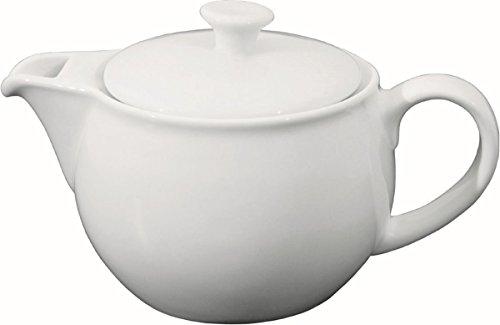 Teekanne mit Deckel Porzellan