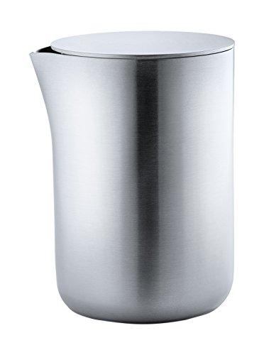 Blomus 63620 Milchkännchen mit Edelstahldeckel basic