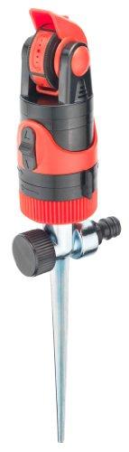 Cornat Rotations-Getrieberegner 360° / Rasensprenger / Rasensprinkler / Flächenbewässerung / Garten Bewässerung / FLOR89770