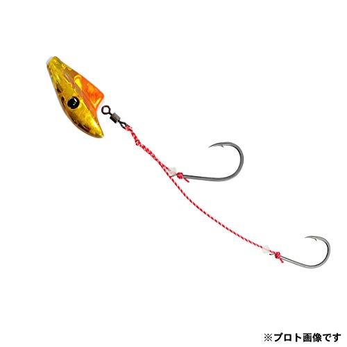 ダイワ(DAIWA) テンヤ 紅牙 遊動テンヤSS ラトルダンス 5号 ケイムラ オレンジ/金