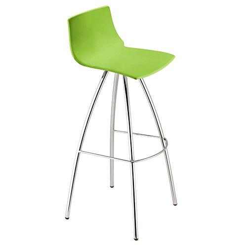 Scab Design Sgabelli Day H82 Colore Verde Pistacchio [Set di 2]