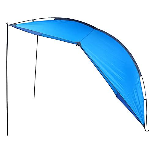BESPORTBLE Tienda Trasera Impermeable para Coche Portátil Tienda para Acampar a Prueba de para Acampar Al Aire Libre Barbacoa Picnic Coche Remolque Playa Azul 240X200cm