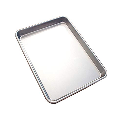 Baking Sheet Cookie Sheet, Aluminized Steel Baking Pan Tray Professional, Bakeware Cookie Sheet for Home Kitchen and Catering – PFOA Free,1PACK