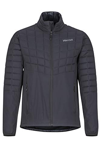 Marmot Men's Featherless Hybrid Jacket, Black, Large