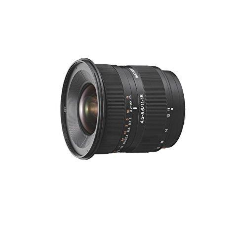 Sony SAL-1118, Ultra Weitwinkel Zoom Objektiv (11-18 mm, F4,5–5,6, A-Mount APS-C, geeignet für Alpha 77/68/58 Serien)