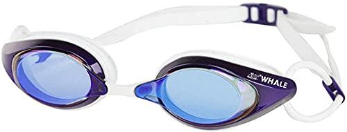 Gafas De Seguridad Para Natación, Lentes Planas, Pieza Nasal Ajustable, Sin Fugas, Protección Uv Antivaho, Natación Condensada Como Hombre Adulto Mujer Joven Cómodo-d. Gafas Piscina Gafas Buceo Niño