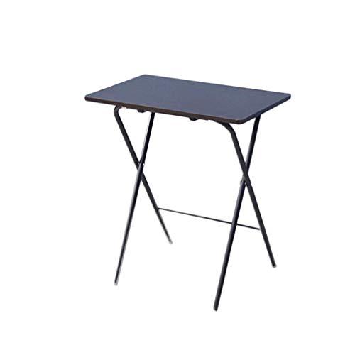 Klaptafel tuintafel eettafel laptop bureau bed gratis installatie eenvoudige klaptafel eettafel kleine tafel (kleur: zwart) zwart