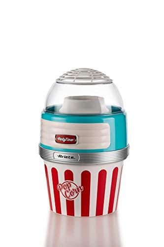 Ariete XL Macchina per Popcorn, 1100 W, Azzurro