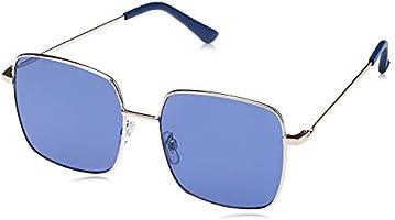 TFL Rectangle Sunglasses for Women - Navy Lens, 16492-NavyBlue