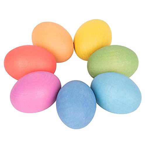 TickiT 74005 Huevos de Madera Arco Iris...