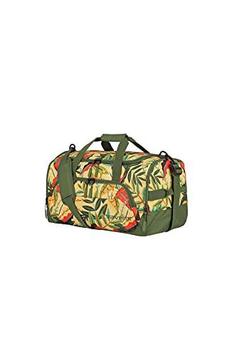 travelite borsa da viaggio dimensione M, serie di valigie KICK OFF: pratica borsa da viaggio per le vacanze e lo sport, 50 cm, 45 litri, colore giungla
