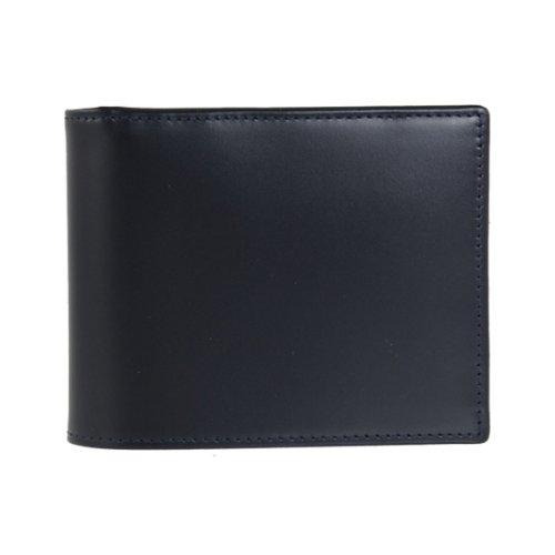 [エッティンガー] ETTINGER 二つ折り財布(小銭入れ付) ネイビー BILLFOLD WITH 3 C/C & COIN PURSE BH141JR...