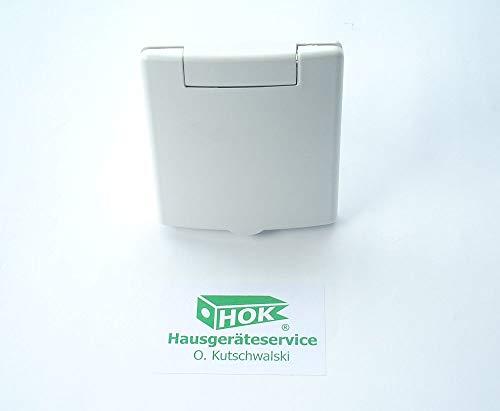 Saugdose VEX-S quadratisch 8 x 8 cm von PLASTIFLEX für Zentralstaubsauger