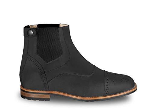 Cavallo Stiefelette Schuhe Brogue Pro Nubuk schwarz, Schuhgröße:5.5