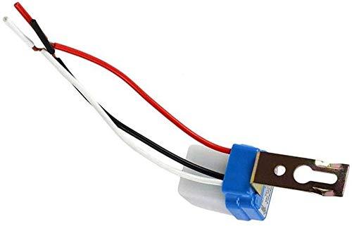 Impermeable Interruptor fotoeléctrico Controlador automático impermeable Farola 220V sensor de detection automática Conjunto de interior y al interruptor de la luz, al aire libre (220v)