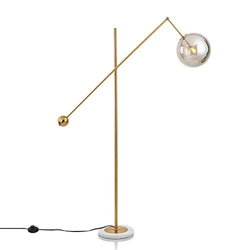 Dellemade Lámpara de pie con 1 luz LED de pie con tono...