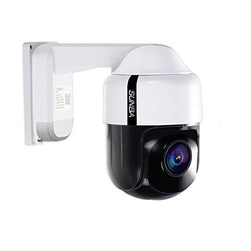 Mini Cámara Analógica de Seguridad PTZ 960H con Zoom Óptico Sunba, Auto Enfoque, Interior/Exterior y Visión Nocturna hasta 50m (305-A4X)