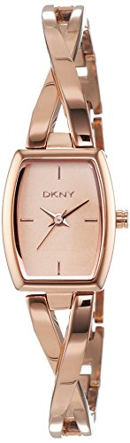 DKNY Damen-Armbanduhr Analog Quarz Edelstahl beschichtet NY2314