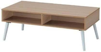 Maison Concept Pluto Coffee Table Cabinet, Beige - W600 x H448 x D1200 mm