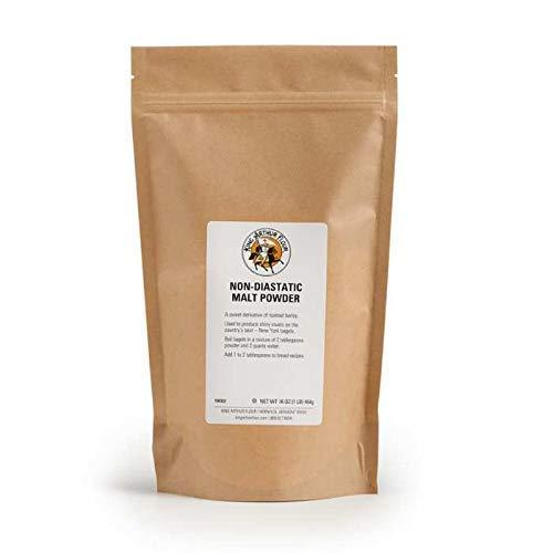 King Arthur Flour Non-Diastatic Malt Powder, Kosher - 16 Ounce Bag