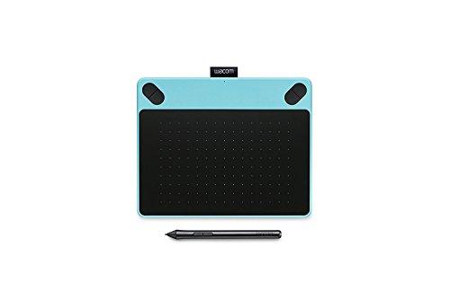 Wacom Intuos Art - Tableta Gráfica, Lápiz Intuos Pen, 2540 lpp, 133 pps, Función multitáctil, Tamaño Mediano, Color Azul