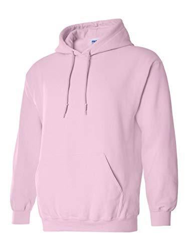 Gildan Men's Heavyweight Blend Hooded Sweatshirt, Light Pink, X-Large