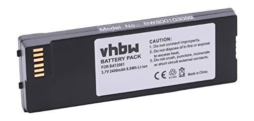 vhbw Batería Compatible con Iridium 9555 móvil, Smartphone satélite teléfono (2400mAh, 3,7V,...